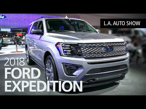 2018 Ford Expedition SUV Walkaround at the L.A. Auto Show