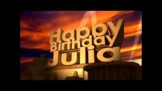 Happy Birthday Julia