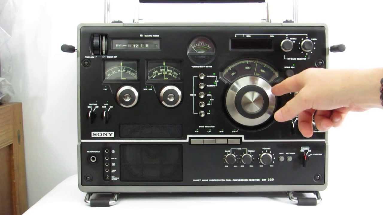 sony crf 320 testing operation youtube rh youtube com Sony CRF 320 Radio World Band Receiver Radio Sony ICF Sw35