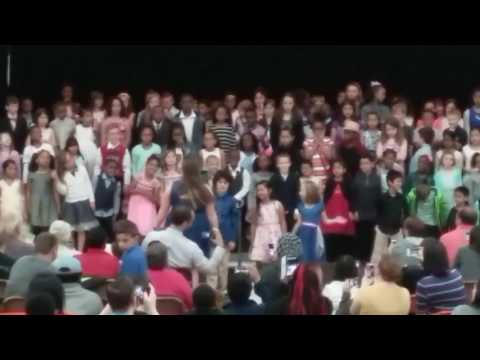 Charter Oak Primary School 2017 Spring Concert 2nd Grade Ayce and Alexis