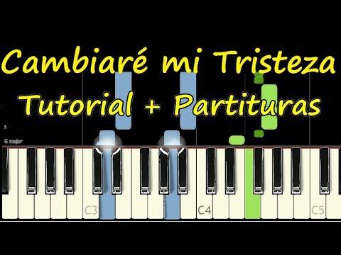 CAMBIARÉ MI TRISTEZA Vertical Piano Tutorial Cover Facil + Partitura PDF Sheet Music Easy Midi thumbnail