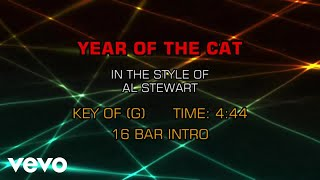 Al Stewart - Year Of The Cat (Karaoke)