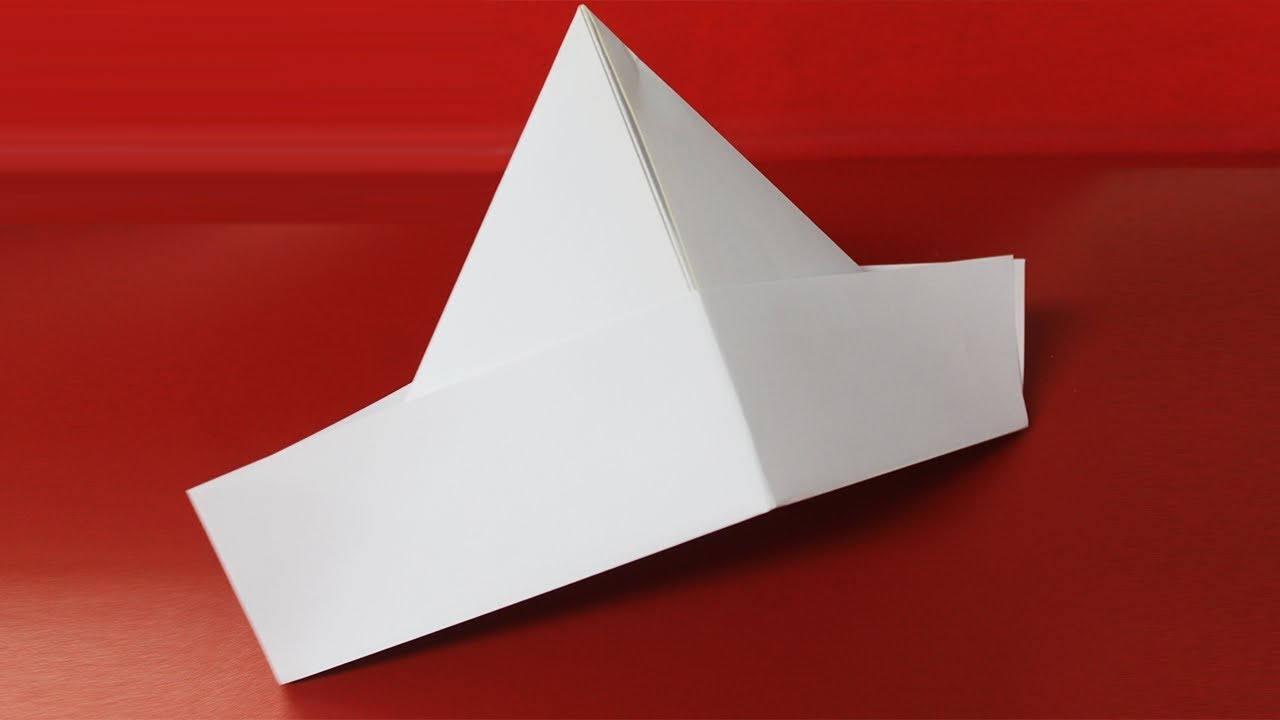 How to Make a Sailor's Hat - Pretty Origami - YouTube | 720x1280