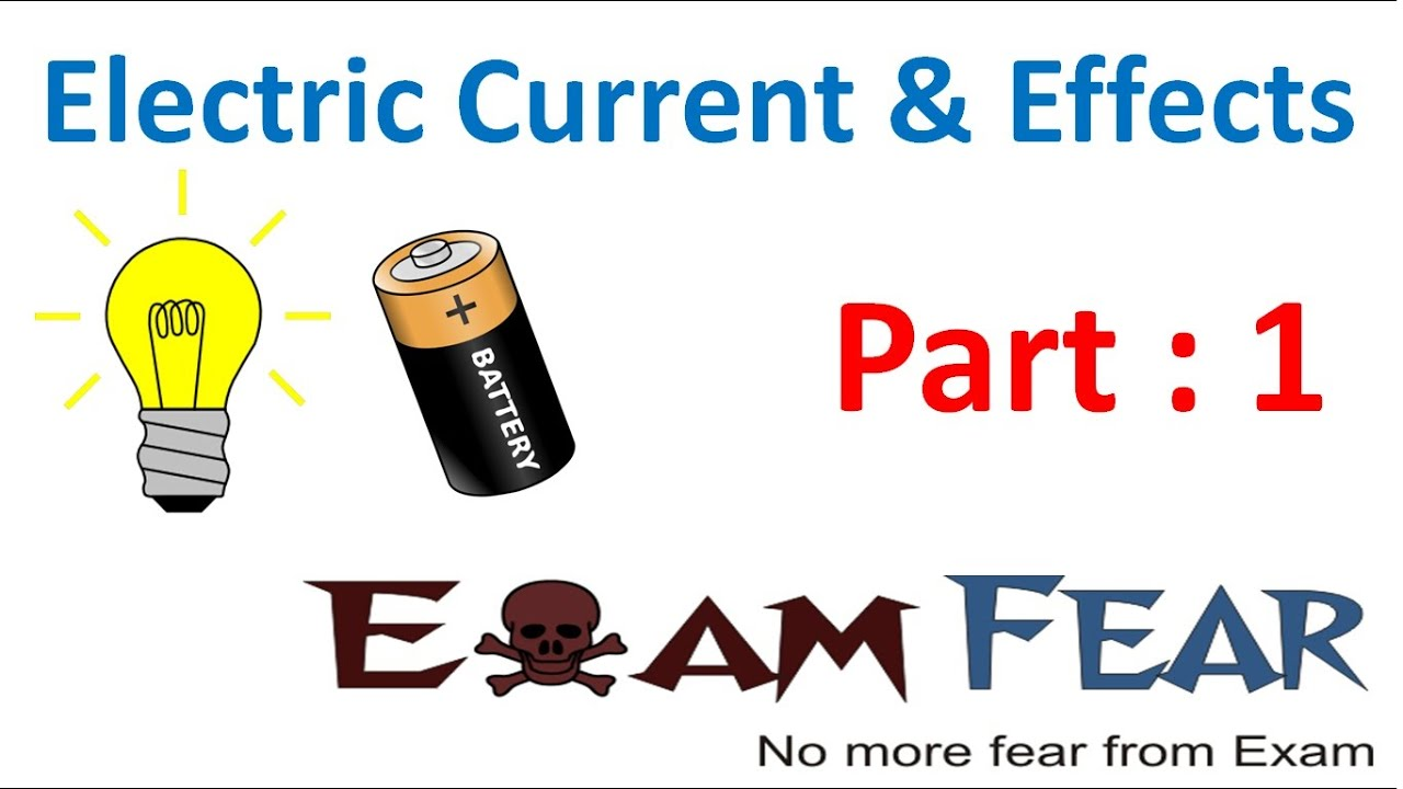 Physics Electric Current Circuits Part 1 Class Video Animation Simple Electrical Circuit Showing Flow By 7 Vii