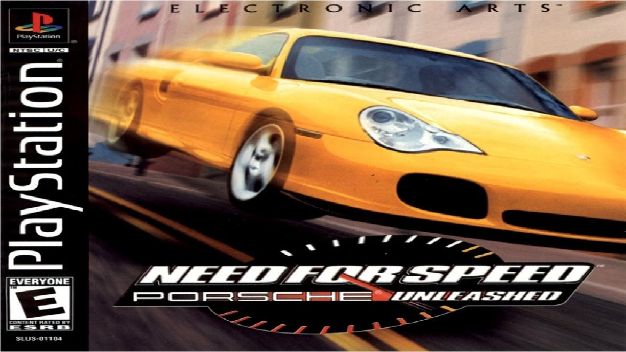 need for speed: porsche 2000 playstation