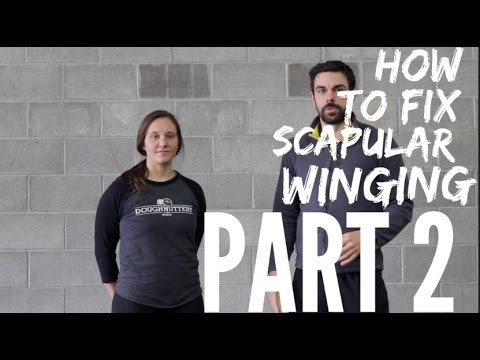 How to Fix Scapular Winging PART 2!