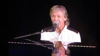 """Paul McCartney performing """"Maybe I'm Amazed"""" at Dodgers Stadium 7-13-19"""
