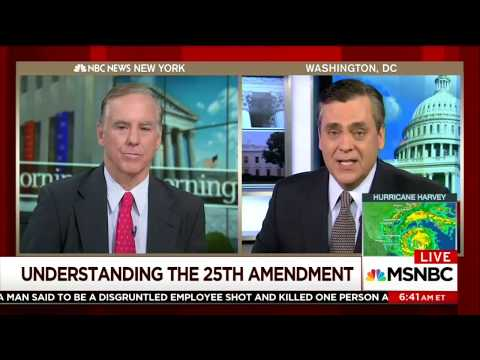 """Howard Dean and Law Prof Agree: 25th Amendment Option to Remove Trump is """"Hooey"""""""