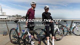 MISSION CRIT PREP THROUGH SAN FRANCISCO ON A FIXED GEAR BIKE