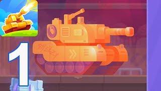 Tank Stars - Gameplay Walkthrough part 1 - Abrams (iOS, Android)