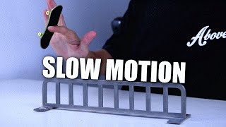 SUPER SLOW MOTION FINGERBOARD TRICKS