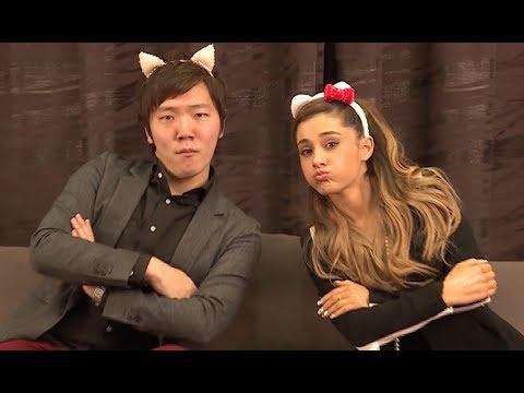 アリアナ・グランデさんとヒカキンがコラボ! Ariana Grande × Hikakin!