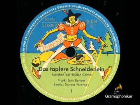 Das tapfere Schneiderlein / Hans Paetsch (Erzähler)