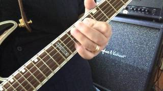 """How To Play """"I'm Bad, I'm Nationwide"""" Intro ZZ Top"""