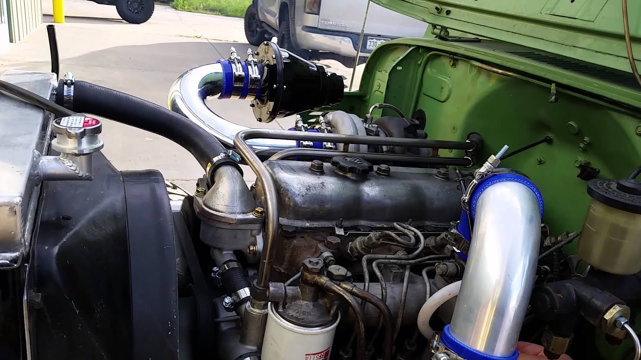 1978 78 Toyota Bj40 B Engine Intercooled Turbo Diesel Land