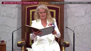 New throne speech lays out big plans to fight COVID-19, aid recovery