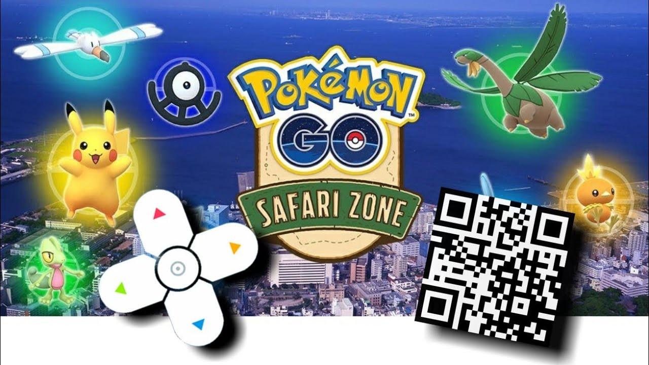 Download Lagu I Got A Qr Code For Safari Zone In Pokemon Go