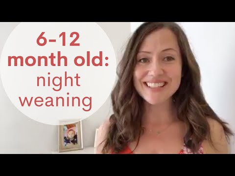 How to Night Wean Baby (6-12 months)