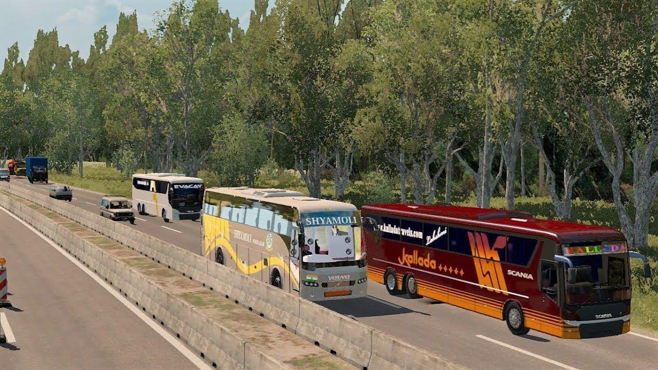 Scania Metrolink Indian Traffic Pack for ETS2 + Link