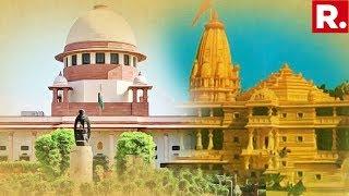 Ram Mandir Hearing Underway In Supreme Court Hindu Groups Cite Asi Report