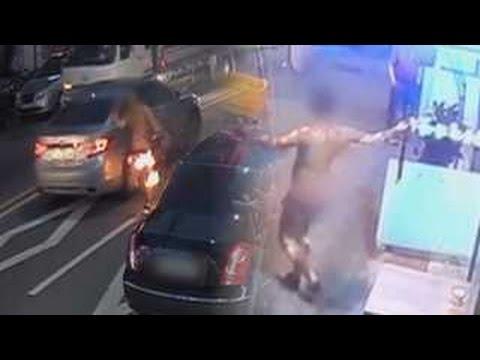 [단독] 차량 수리 문제로 다투다 카센터 사장이 방화…고객 사망 / 연합뉴스TV (Yonhapnews TV)