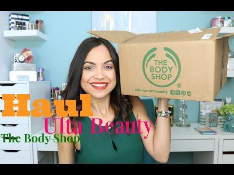 Compras en The Body Shop y Ulta Beauty | Cuidado facial y maquillaje