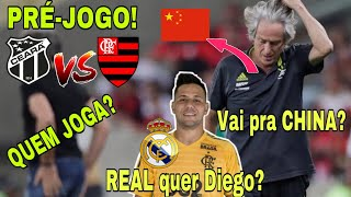 JORGE JESUS VAI PRA CHINA? REAL PROCUROU D.ALVES? E+