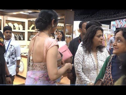 Thumbnail: Sridevi Looking Beautiful In Saree At 30th Anniversary Of IMC Ladies Wing Opening