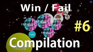 Agar.io - ƵŦ Win / Fail Compilation #6
