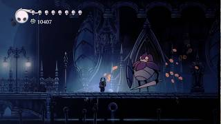 Hollow Knight, Late Game Easy and Fast Geo Farming 435 Geo in 1 minute and a half.