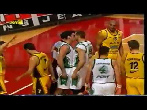 1998 Greek playoffs semi finals game 1 Panathinaikos-AEK