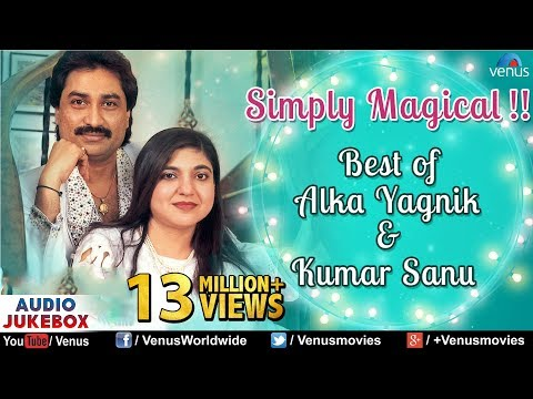 Best of Alka Yagnik & Kumar Sanu  Best Hindi Songs  90s Bollywood Romantic Songs  Audio Jukebox
