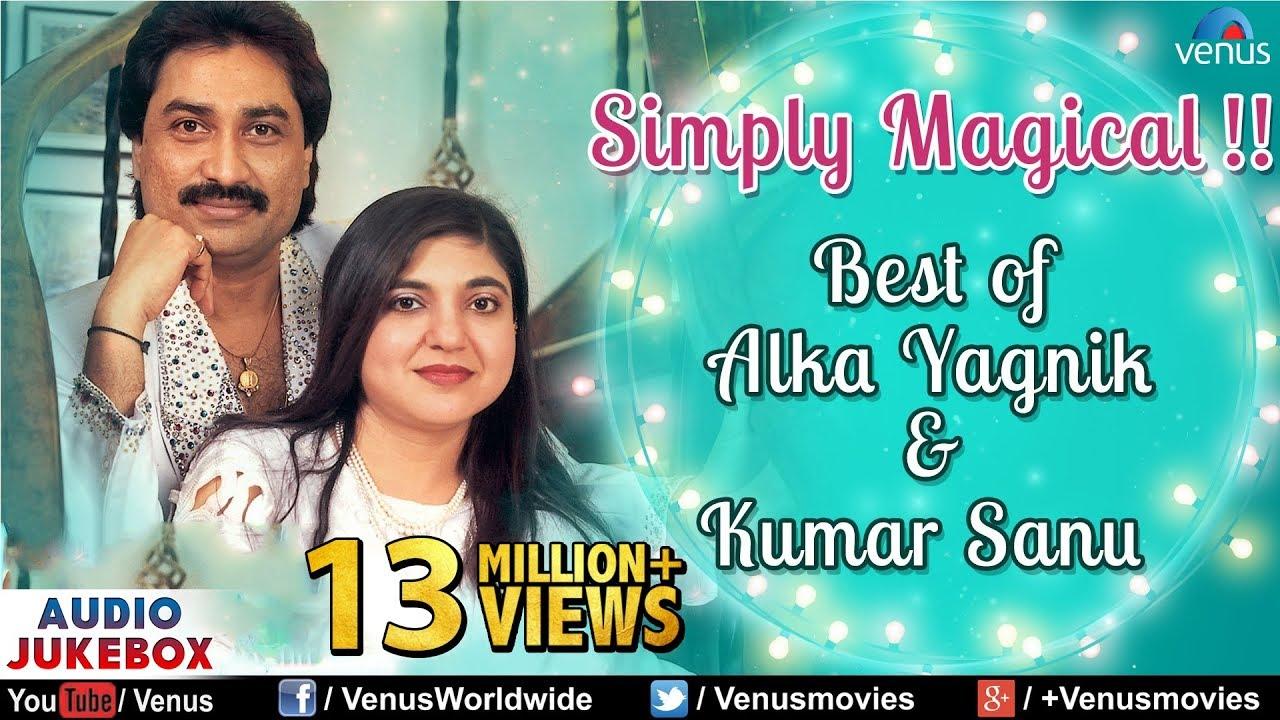 Best Of Alka Yagnik Kumar Sanu Best Hindi Songs 90 S