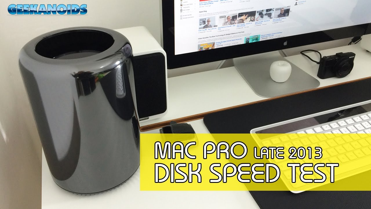 Late 2013 Apple Mac Pro Disk Speed Test