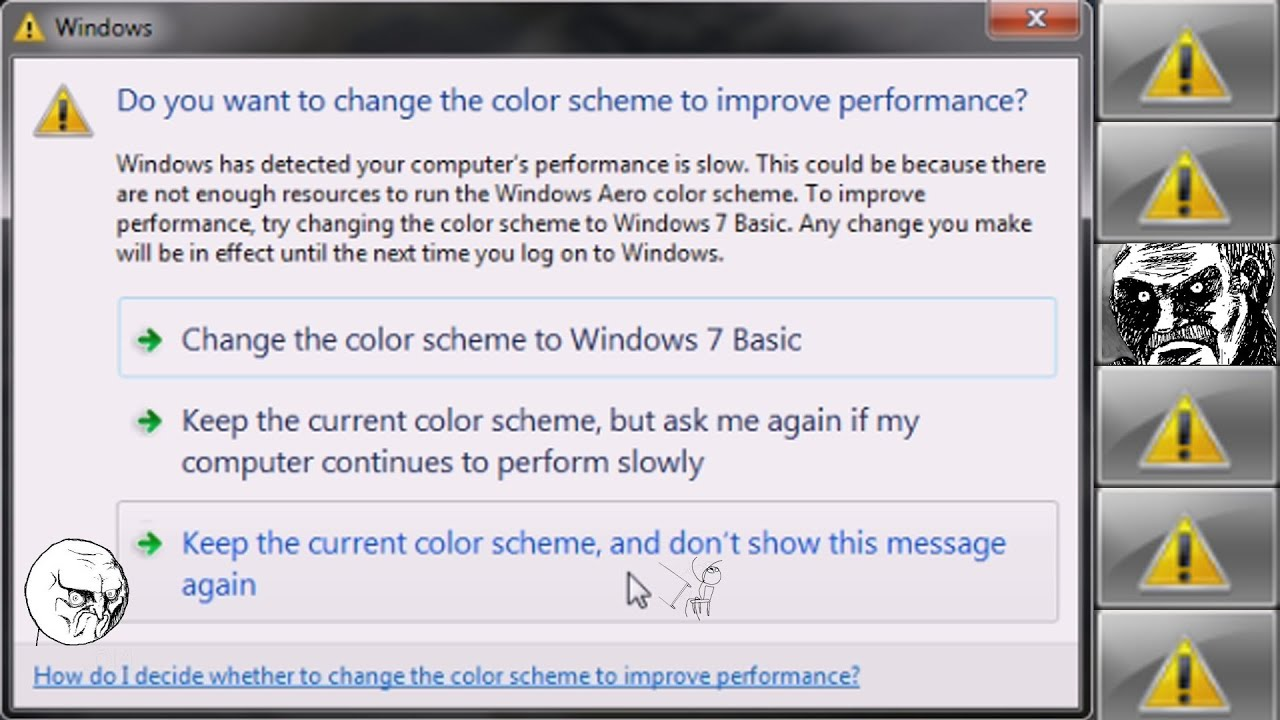 △ Gaming Windows Error Fix Change Color Scheme To Improve ...