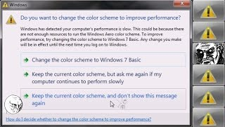 ▲ Gaming Windows Error Fix  Change Color Scheme To Improve Performance