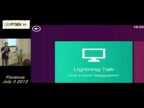 Image from Extra Lightning Talks 03 July - 1