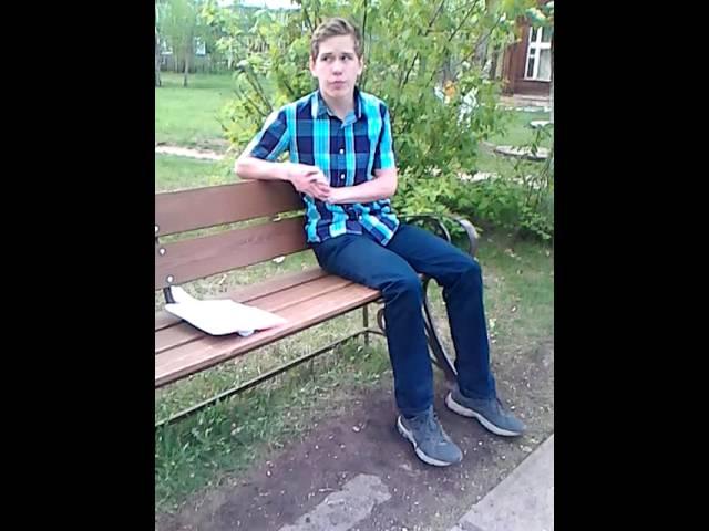 Изображение предпросмотра прочтения – АлексейОднолеток читает произведение «Евгений Онегин» А.С.Пушкина