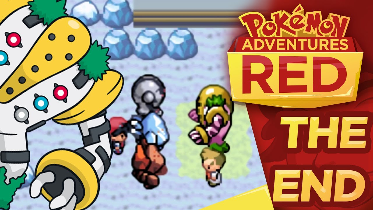 pokemon adventures red chapter the end regigigas youtube