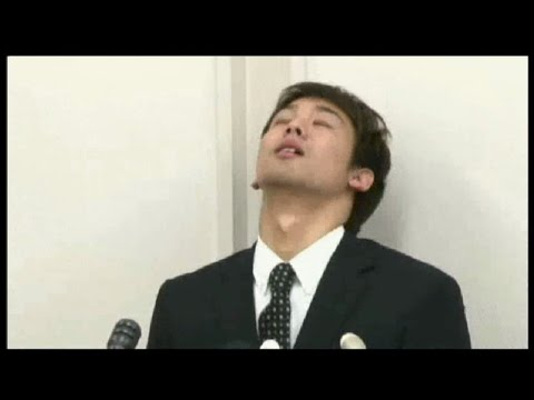 NHK女性記者が冨田選手を泣かした瞬間