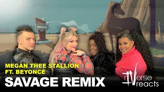 rIVerse Reacts: Savage Remix by Megan Thee Stallion Ft. Beyoncé (Official Audio Reaction)