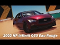 Extreme Power, No Handling (Autocross) - 2014 Infiniti Q50 Eau Rouge (Forza Horizon 3)
