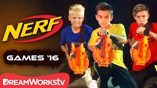 Can Johnny Orlando Keep the Lead? | NERF GAMES 2016
