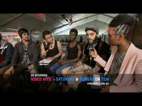 Video Hits interviews Gym Class Heroes - Good Vibrations 2010