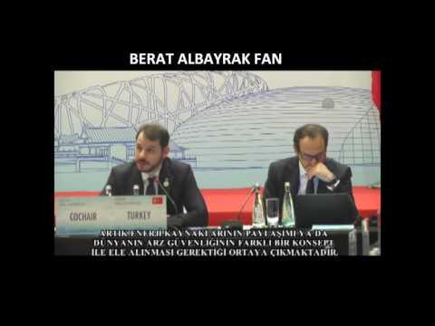 Enerji Bakanımız Berat Albayrak'ın G20 Enerji Bakanları Toplantısı Konuşması, Berat Albayrak