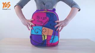 Обзор ортопедического школьного рюкзака Shelby от  ТМ YES