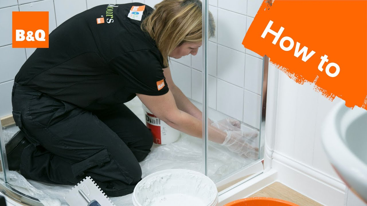 How to tile a shower part 2: tiling - YouTube