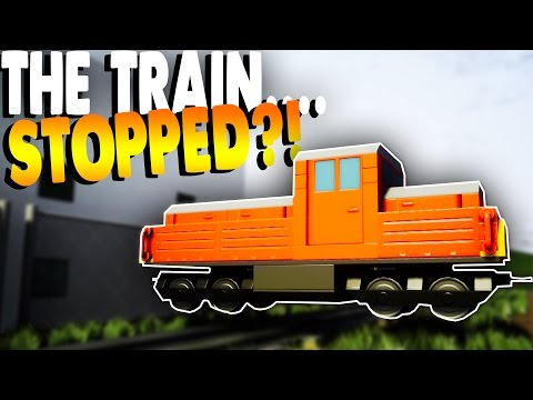 Brick Rigs Game | THE TRAIN STOPPED & USER CREATIONS IN MULTIPLAYER! | Brick Rigs Online Gameplay