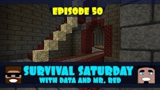 Data & Mr. Red's Survival Saturday Episode 50 - There Is A Koala In The Closet!