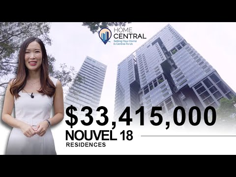 Inside an ultra lux $33M 2-storey penthouse with private pool | Nouvel 18